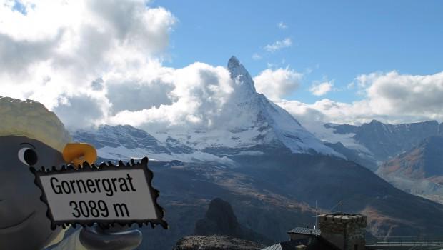 Gornergrat 3089m with Matterhorn