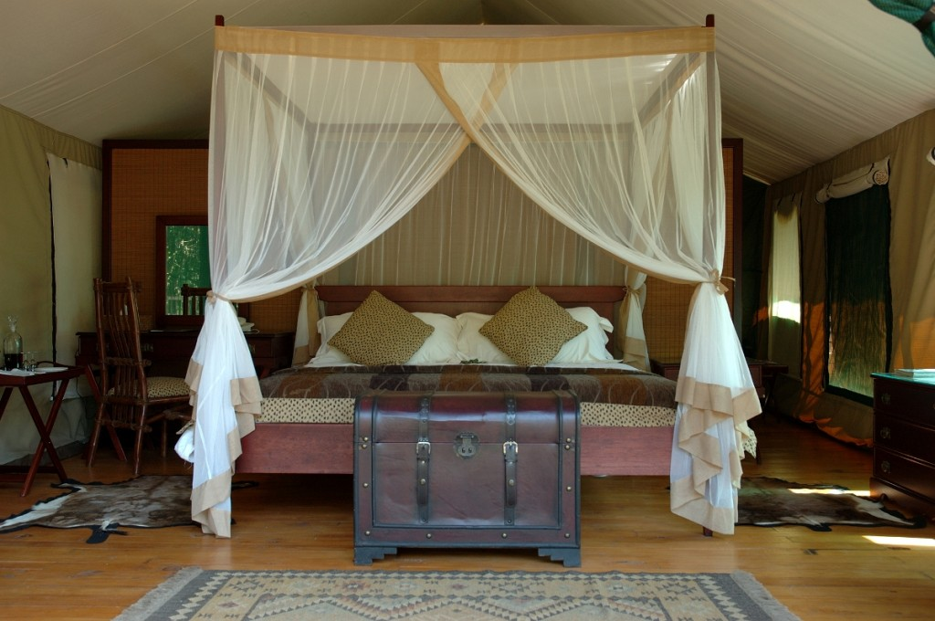 Luxury tented Suite